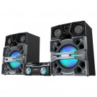 Mini System Panasonic SC-MAX8000LB Preto/Cinza, MP3, Bluetooth, 2G, NFC, USB - 3300 W
