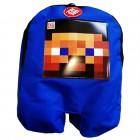 Mochila do Jogo Minecraft  ZR Toys - Steve