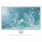 Monitor LED 27'' Samsung LS27E360FSMZD - Branco, Full HD