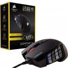 Mouse Gamer Corsair �ptico Scimitar RGB - 12000 DPI - Preto