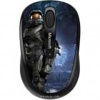 Mouse Óptico Microsoft Wireless Mobile 3500 Halo Edição Limitada - Preto