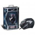 Mouse Profissional USB GX Gaming Genius DeathTaker com Nove Bot�es