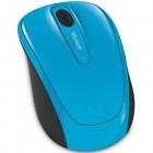 Mouse Wireless Microsoft 3500 - Azul, Sem Fio