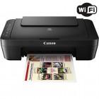 Multifuncional Jato de Tinta Colorida Canon Pixma MG3010 Preta, Wireless