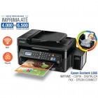 Multifuncional Tanque Jato de Tinta Bulk Ink Epson L565 - Wireless