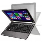 Notebook Positivo Duo ZK3010, Intel Celeron N2806, HD 500GB, Mem 2GB, Tela LCD 10'', Windows 8.1