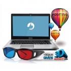 Notebook Positivo Stilo XR5500, Intel Pentium Quad Core, Flash 32GB, Mem 2GB, Tela LCD 14