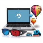 Notebook Positivo Stilo XR5550, Intel Pentium N3540, HD 500GB, Mem 4GB, Tela 14'', Windows 10