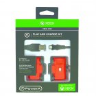 Pack com Bateria e Cabo para Xbox One Power A - 1427910-01