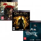 Pacote de Jogos com Dead Island Riptide PS3 + Deus Ex: Human Revolution PS3 + Thief PS3