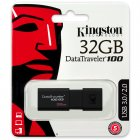 Pen Drive Kingston 32GB Datatraveler 100 Generation 3 USB3.0 Preto