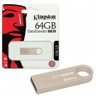 Pen Drive Kingston 64GB Datatraveler SE9 USB 2.0 Prata -  DTSE9H/64GB