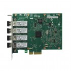 Placa De Rede Server Intel  E1G44HFBLK - Pci-ex x4, Chip 82580, Quad Port, 1Gbit