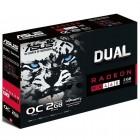 Placa de Vídeo Asus Radeon RX 460 DUAL-RX460-O2G, 2GB, DDR5, 128 Bits