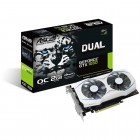 Placa De Vídeo Asus Geforce DUAL-GTX1050-O2G GTX 1050 OC, 2GB, DDR5, 128 Bits