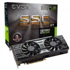 Placa De Vídeo EVGA Geforce GTX 1060, SSC DT Acx 3.0, 6GB, DDR5, 192Bits