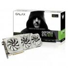 Placa de Vídeo Galax Geforce Entusiasta Nvidia 70NSH6DHL2OH GTX 1070 HOF, 8GB, DDR5, 256Bits