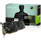 Placa De Vídeo Galax Geforce GTX 1060, EXOC Black 3GB, DDR5, 192Bits