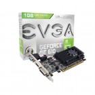 Placa de V�deo GeForce EVGA Mainstream Nvidia 01G-P3-2615-KR GT 610, 1GB, DDR3, 64Bits