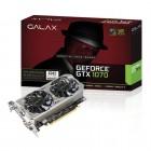 Placa de Vídeo Geforce Galax Entusiasta Nvidia 70NSH6DVO5MN, GTX 1070 OC, 8GB, DDR5, 128 Bits