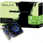 Placa de Vídeo GeForce Galax GT Mainstream Nvidia 73GPF8HX3SNS GT 730, 2GB, DDR3, 128Bits