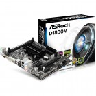 Placa M�e ASRock Micro ATX D1800M - DDR3 16 GB, PCIe 2.0