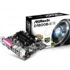 Placa Mãe ASRock Mini ITX - DDR3, D1800B-ITX - Processador Dual Core