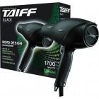 Secador de Cabelo Taiff Black, 5 Velocidades, 2 Temperaturas, 1700W, 110V - Preto