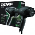 Secador de Cabelo Taiff Black, 5 Velocidades, 2 Temperaturas, 1700W, 220V - Preto