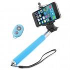 Selfie Stick Retr�til Mono Pod - Azul
