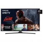 Smart TV LED 55'' Samsung UN55KU6000 UHD 4K Series 6 - Wi-Fi, HDMI, USB, Motion Rate 120Hz