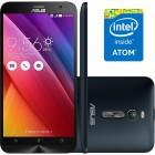 Smartphone Asus ZenFone 2 ZE551ML Preto, Dual, Android 5.0, Tela 5.5'', Mem 16GB, C�m 13MP, 4G