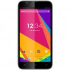 Smartphone BLU Dash 5.5 D470L Grafite, Dual Chip, Android 4.2, C�m. 5MP, Mem. 4GB, Tela 5.5'', 4G