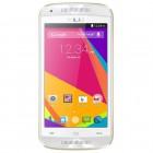 Smartphone BLU Dash C Music D390L Branco e Dourado, Dual, 4.0'', Android 4.2, Câm. 3.2MP, 4GB, 3G