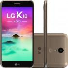 Smartphone LG K10 Novo Dourado, Tela 5.3