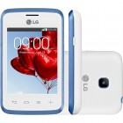 Smartphone LG L20 D107 Tri Chip Branco, Android 4.4 KitKat, Tela 3.0