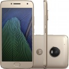 Smartphone Moto G5 Plus Ouro, Dual Chip, Android 7.0, Tela 5.2