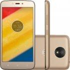 Smartphone Motorola Moto C Plus Ouro, Dual Chip, Android 7.0, Tela 5