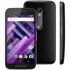 Smartphone Motorola Moto G 3ª Geração Turbo Preto, Dual Chip, Tela 5