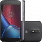 Smartphone Motorola Moto G 4ª Geração Plus Preto, Dual Chip, Tela 5.5