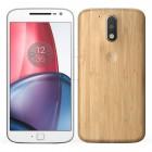 Smartphone Motorola Moto G4 Play Plus Branco e Bambu, Dual Chip, Tela 5.5