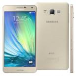 Smartphone Samsung Galaxy A7 4G Duos A700FD Dourado, Android 4.4, 16GB, Tela 5.5