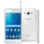 Imagem - Smartphone Samsung Galaxy Gran Prime Duos TV - Branco - Quad Core, Mem 8 GB, Android 4.4, C�m 8MP