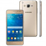 Smartphone Samsung Galaxy Gran Prime Duos TV - Dourado - Quad Core, Mem 8 GB, Android 4.4, C�m 8MP