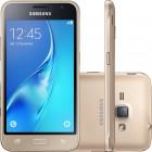 Smartphone Samsung Galaxy J1 2016 J120H Dourado, Dual Chip, Tela 4.5