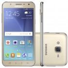 Smartphone Samsung Galaxy J7 Duos J700M, Dourado, Tela 5.5'', 4G + WiFi, Android 5.0, 13MP, 16GB