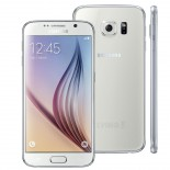 Smartphone Samsung Galaxy S6 Branco, Android 5.0, Tela AMOLED 5.1
