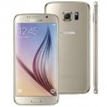 Smartphone Samsung Galaxy S6 Dourado, Android 5.0, Tela AMOLED 5.1