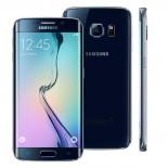 Smartphone Samsung Galaxy S6 Edge Preto, Android 5.0, Tela AMOLED 5.1