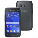 Smartphone Samsung Galaxy Young 2 Duos TV Cinza SM-G130 - Android 4.4, 3G, Wi-Fi, Câm 3.0MP, Mem 4GB